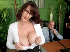 Fucking the massive titted Mama I'D LIKE TO FUCK who's wearing glasses